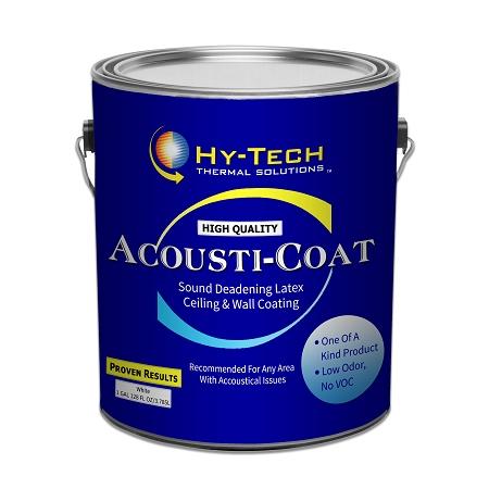 acoustic coat sound absorbing paint. Black Bedroom Furniture Sets. Home Design Ideas